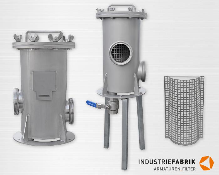 Einfachfilter (Schmutzfänger) Typ EF, Hersteller ...