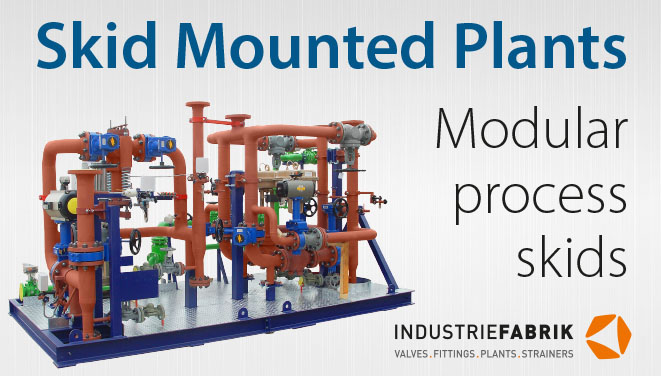 modulare Industrieanlagen - Skid mounted plants
