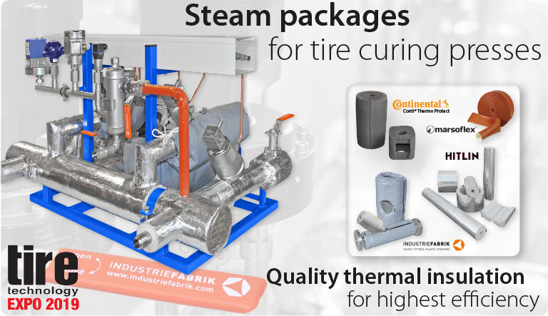 tire technology expo steam packages for tire curing presses 2019