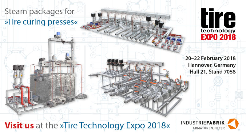 tire technology expo steam packages for tire curing presses